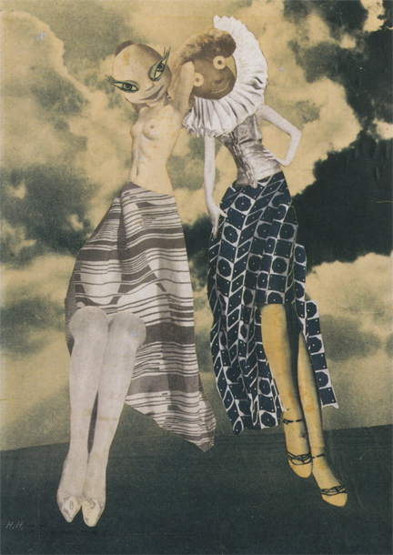 Hannah Hoch, On the Way to Seventh Heaven, 1934