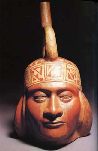 Moche Portrait Head