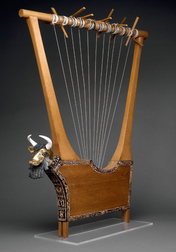 Bull-headed Lyre from Ur