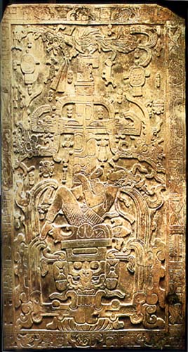 Lord Pakal's Sarcophagus LId