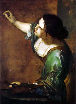 Gentileschi Self Portrait as the Allegory of Painting