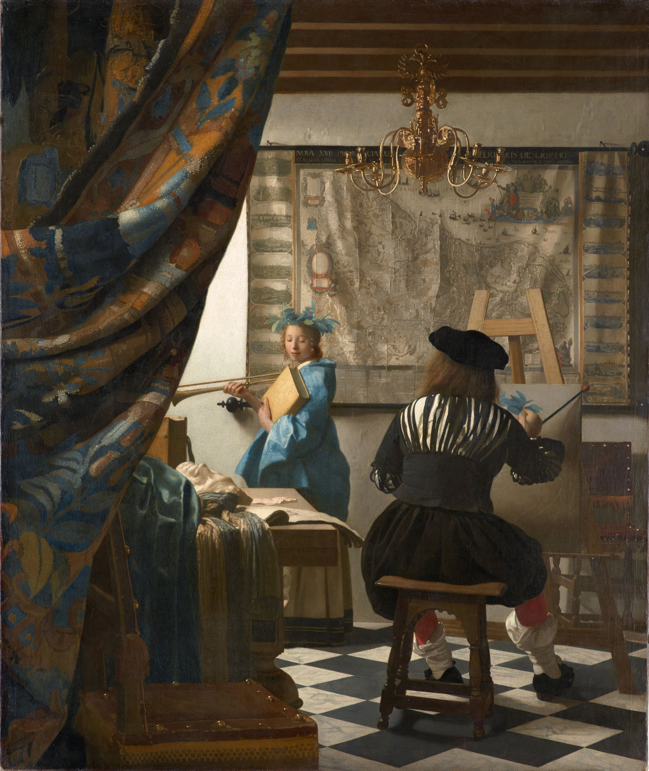 Jan Vermeer, Art of Painting, 1662 - 1668.