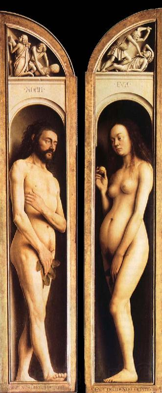 Ghent Adam and Eve