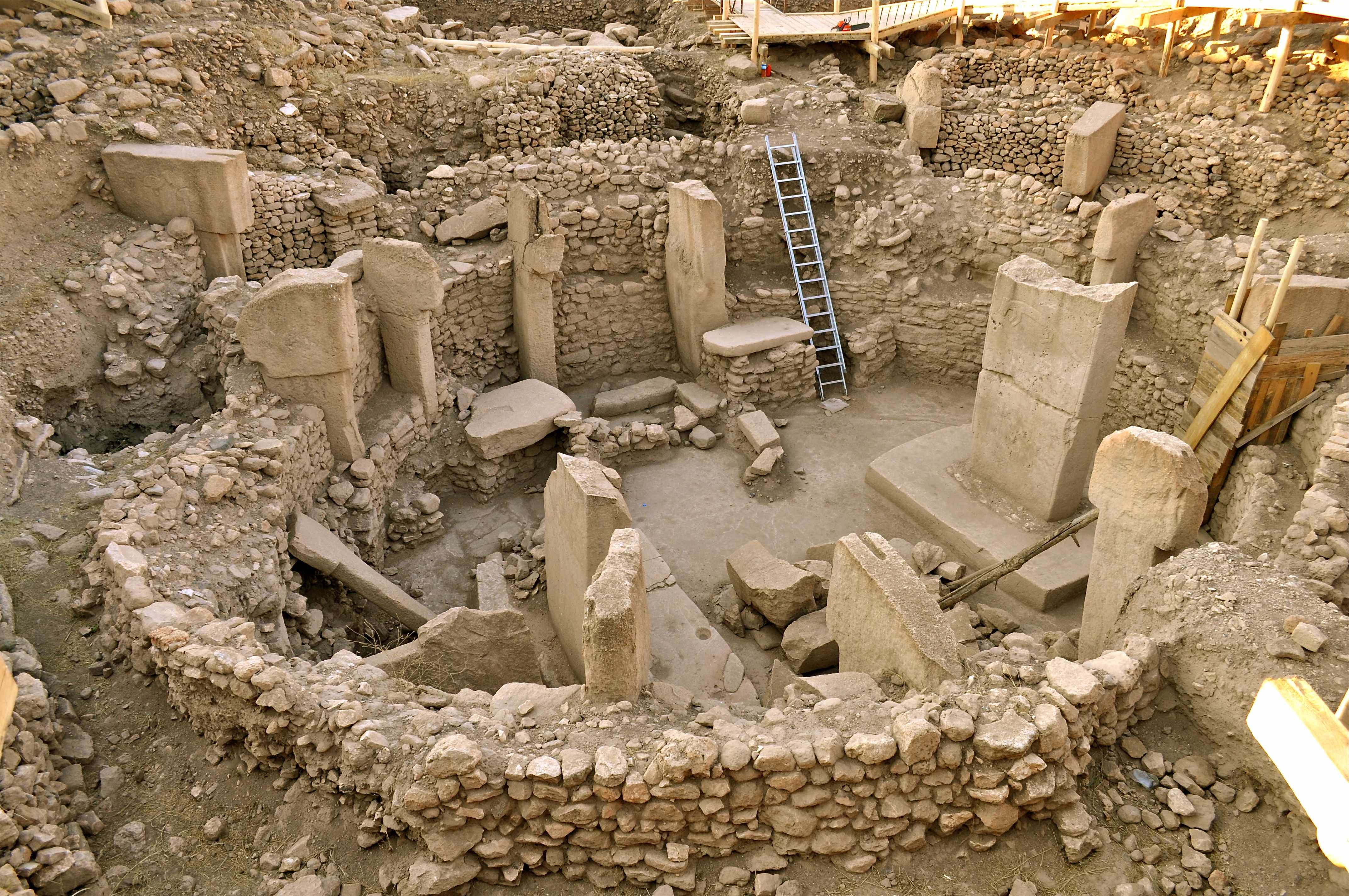 Göbekli Tepe excavation site