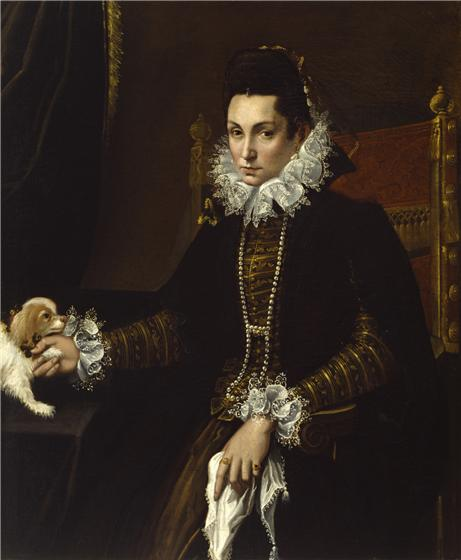 Portrait of a Woman with her Lap Dog