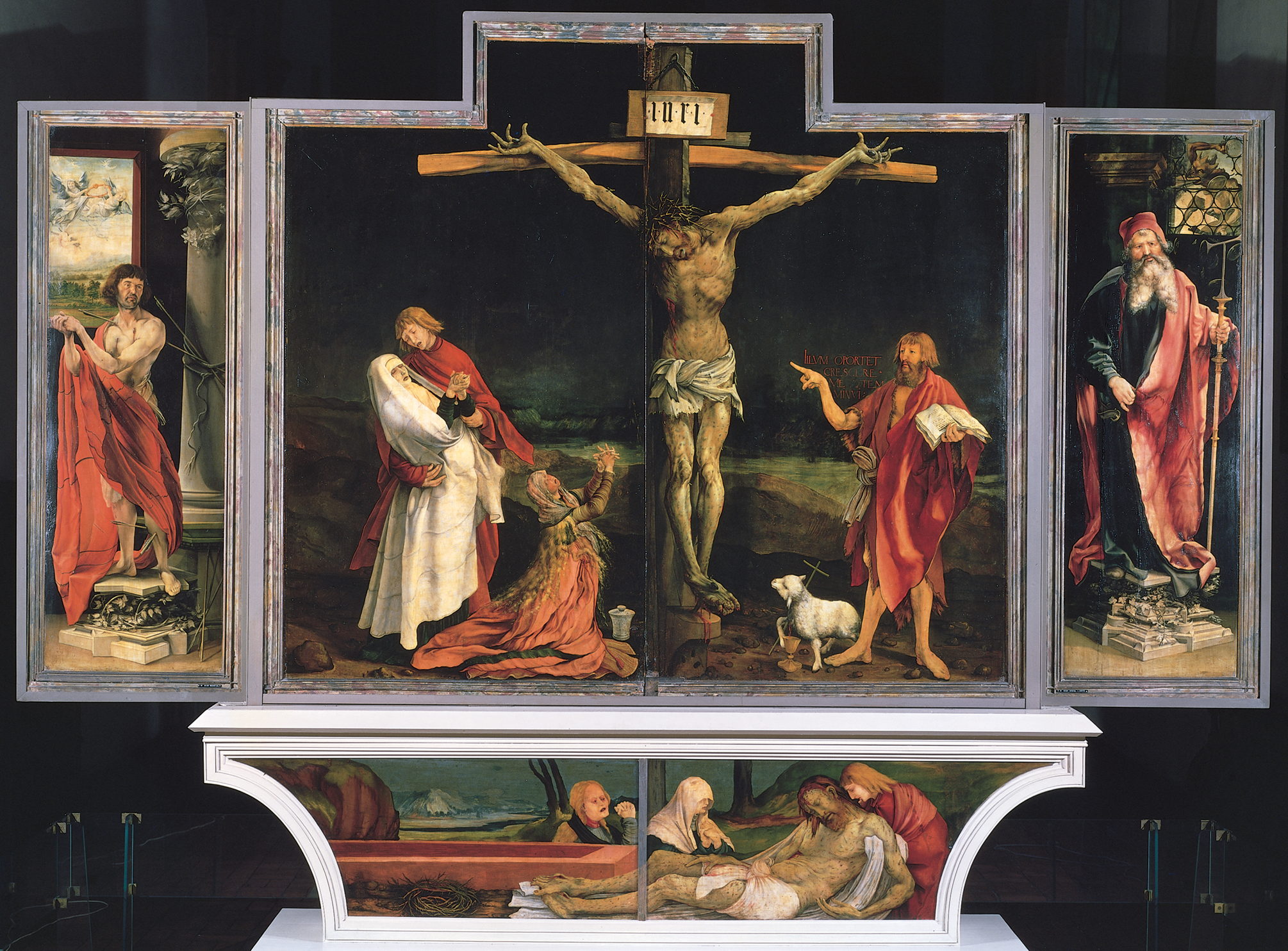 Isenheim Altarpiece (closed)