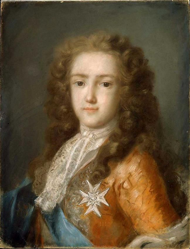Portrait of Young Louis